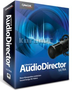 CyberLink AudioDirector Ultra 11.0.2304.0 Crack